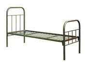 двухъярусные и одноярусные кровати металлические для пансионатов