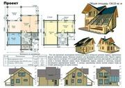 Проекты кирпичных,  каркасных и деревянных домов в Пензе