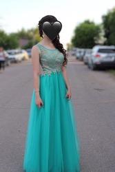 Вечернее платье в Пензе (отдам в подарок серьги)
