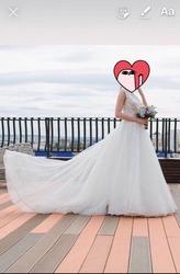 Шикарное свадебное платье Пенза